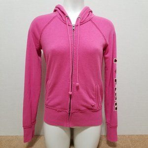 Victoria's Secret PINK hoodie Small I Heart PINK